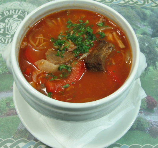 Суп-гуляш по-венгерски в мультиварке рецепт с фото