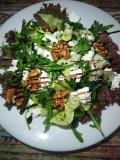 "Salad with walnut and ""Feta"""